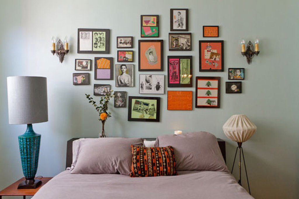 Cluster Wall Frame Ideas