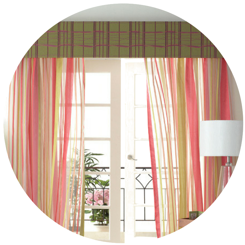 Pelmets Juliet Soft Furnishings