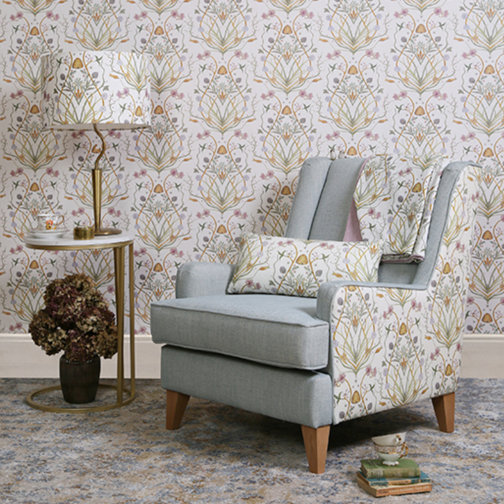 The Chateau By Angel Strawbridge Fabric Supplier Northumberland
